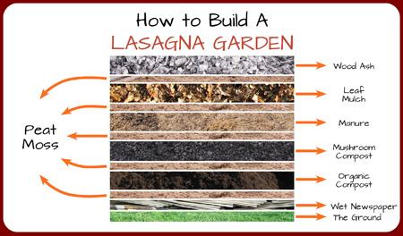 Lasagna Garden aka Compost Cake, Sheet Mulching, or Vermi-Lasagna Beds
